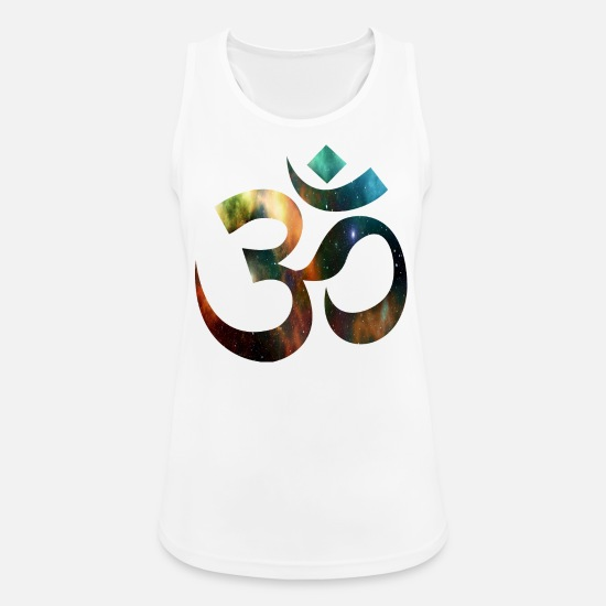 Buddhism Tank Tops - Om - Women's Sport Tank Top white