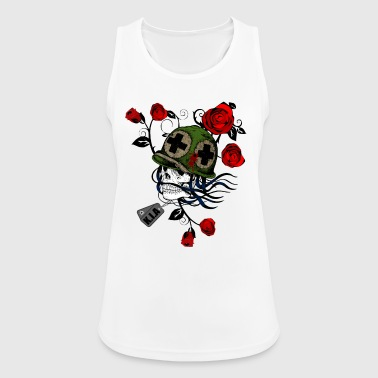 Ghost and the war - Women's Breathable Tank Top