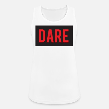Daring DARE - Dare - RED color - Women's Breathable Tank Top
