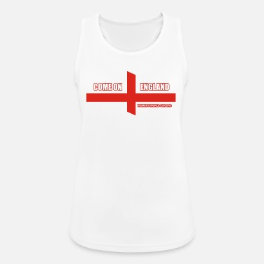 come on england for women's world cup 2019 - Women's Sport Tank Top