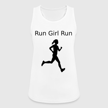 Girl Running run girl run 2 - Women's Breathable Tank Top