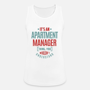 Apartment Apartment Manager - Women's Sport Tank Top