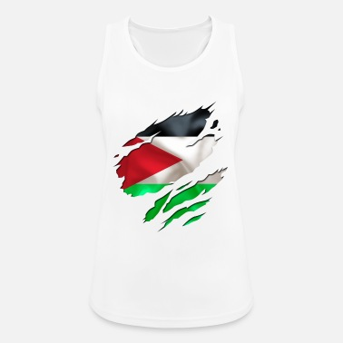 Designs Guinea Visit Wear Logo Nation With African cool israel palestine - Women's Sport Tank Top