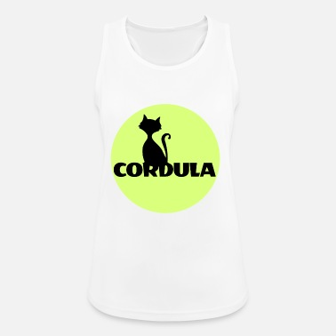 First Name Cordula Name First name - Women's Breathable Tank Top