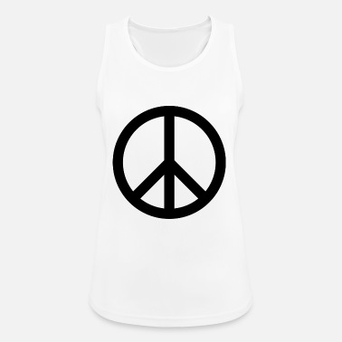 Peace Sign peace sign - Women's Breathable Tank Top