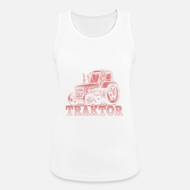Farmer Tractor Wife Gift · Crazy - Women's Breathable Tank Top