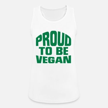 Sports PROUD VEGAN! - Women's Breathable Tank Top