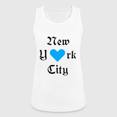 New-york-city New York City, New York, York, heart, City, City, USA - Women's Breathable Tank Top