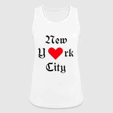 New-york-city New York City, York, New York, City, USA, Iloveyou, Heart - Women's Breathable Tank Top