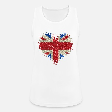 Union Jack I Love Great Britain - England Union Jack - Women's Sport Tank Top