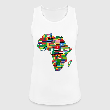 Africa AFRICA AFRICA CONTINENT GIFTS - Women's Breathable Tank Top