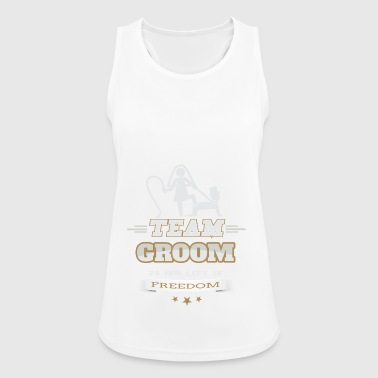 Bachelorette JGA Team Groom Groom's bachelorette party - Women's Breathable Tank Top