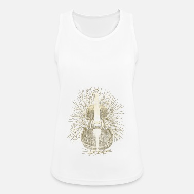 Instrument Instrument Tree Music Band Gifts - Women's Breathable Tank Top