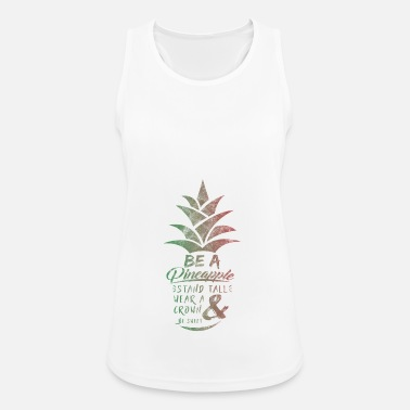 Pineapple Pineapple Gift Pineapple Exotic Fruit - Women's Breathable Tank Top