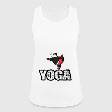 Ballando Yoga Orso Retro New Age - Top da donna traspirante