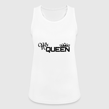 Queen - Schwarz - Women's Breathable Tank Top