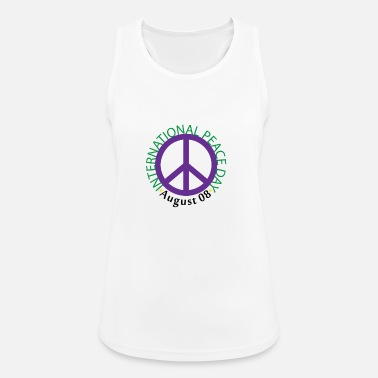 International Internationale fredsskilte - Sports tanktop dame