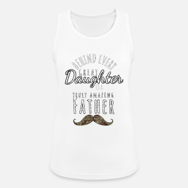Father and daughter design - Women's Sport Tank Top