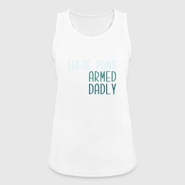 These puns !!! - Women's Breathable Tank Top