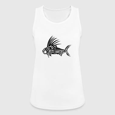 ROOSTER FISH TRIBAL Tattoo Tribals - Tank top damski oddychający
