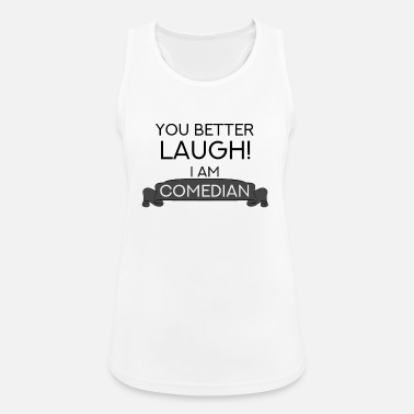 Comedian Comedian comedian clown joke cookie - Women's Sport Tank Top