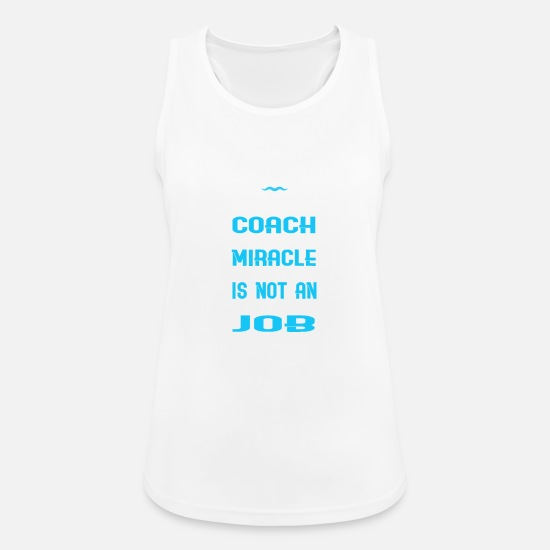 Instructor Tank Tops - swimming instructor - Women's Sport Tank Top white