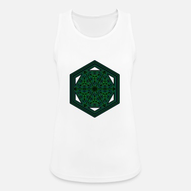 Goa Psychedelic Shirt Sacred Geometry Goa Party - Sports tanktop dame