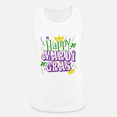 Mardi Gras Mardi Gras - Women's Breathable Tank Top