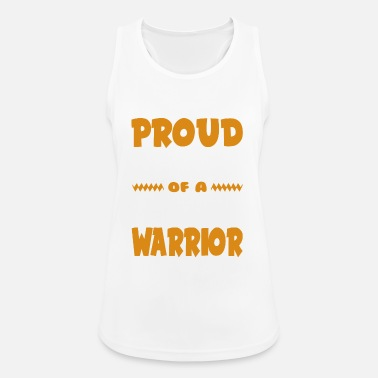 Autism Awareness Proud Dad of a Skin Cancer Warrior! Awareness - Women's Breathable Tank Top