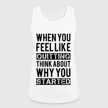 Sports Motivation - Women's Breathable Tank Top
