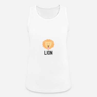 Letter-sign Lion black lettering sign crittercontest - Women's Sport Tank Top