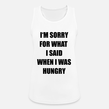 Hungry hungry - Women's Sport Tank Top