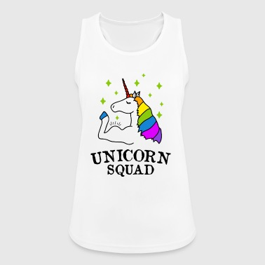 Unicorn Squad gym fitness - Women's Breathable Tank Top