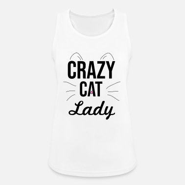 Crazy crazy cat lady crazy cats woman cat lady - Women's Breathable Tank Top