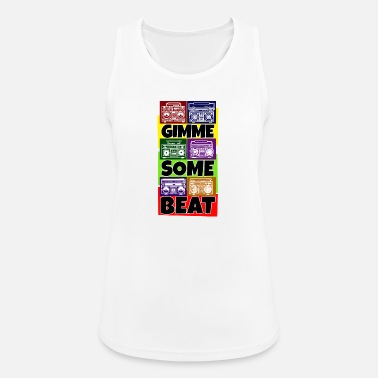 Hip Hip Hop Beat Deutschrap Breakdance DJ Graffiti MC - Sports tanktop dame