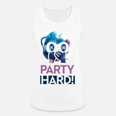 Party Party Hard! - Frauen Sport Tanktop