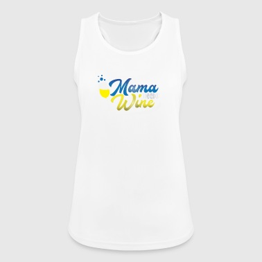 Mom Needs Wine Mother's Day Mom Gift - Women's Breathable Tank Top