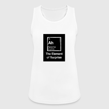 The Element of Surprise (The element of surprise) - Women's Breathable Tank Top