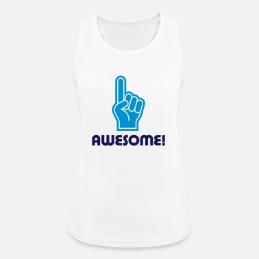Awesome Jeg er awesome! - Dame tanktop åndbar
