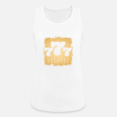 Jackpot Jackpot 777 Casino Poker Jackpot Gift - Women's Breathable Tank Top