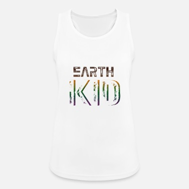 Earth Kid T-Shirt - Frauen Sport Tanktop