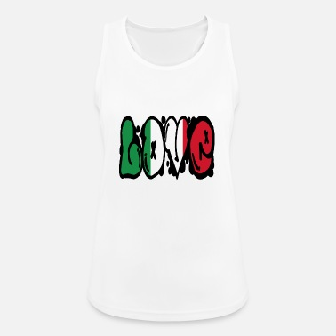 State LOVE Italy - graffiti - Women's Sport Tank Top