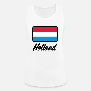 Holland Nationale Vlag Van Holland - Vrouwen tanktop ademend
