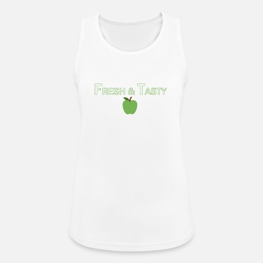 Tasty Fresh & Tasty Apple - Women's Breathable Tank Top