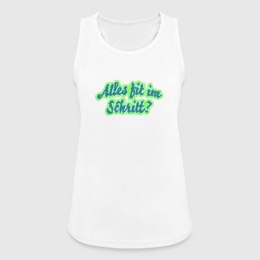 Everything fit in the crotch? - Women's Breathable Tank Top