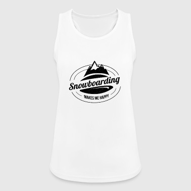 Snowboarding Snowboarding Snowboarding Snowboarder - Women's Breathable Tank Top