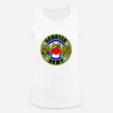 Scooter Scooter army - Women's Breathable Tank Top