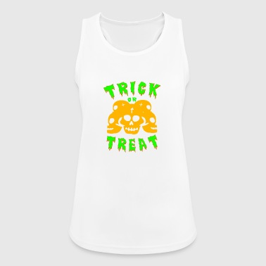 Trick or treating! Trick or treat! - Women's Breathable Tank Top