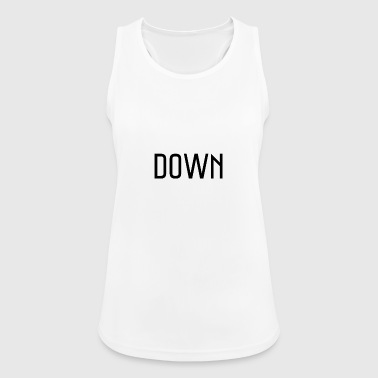 down - Women's Breathable Tank Top
