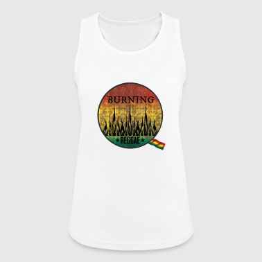 Ragga burning raggae - Women's Breathable Tank Top